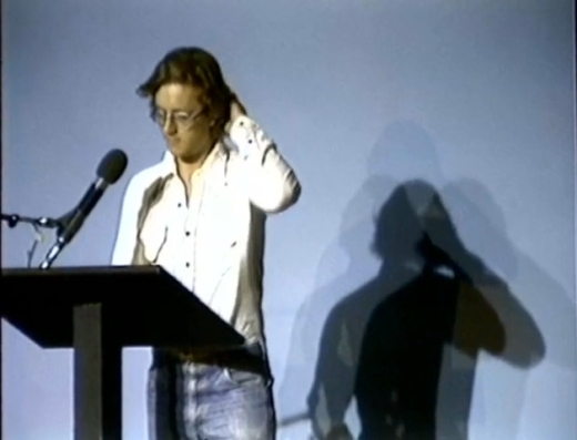 Kevin Davies reading at Celebration: A Benefit for MacLeod's Bookstore, 1983.