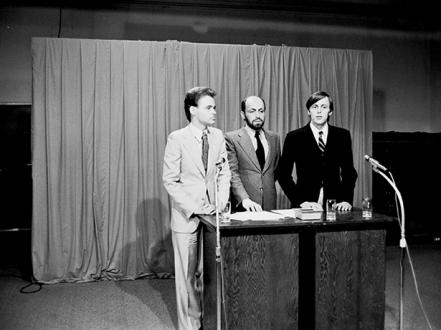 General Idea, Press Conference, 1977