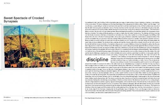 Disciplines, Front Magazine March/April 2009