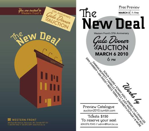 Art Auction Invitation 2010