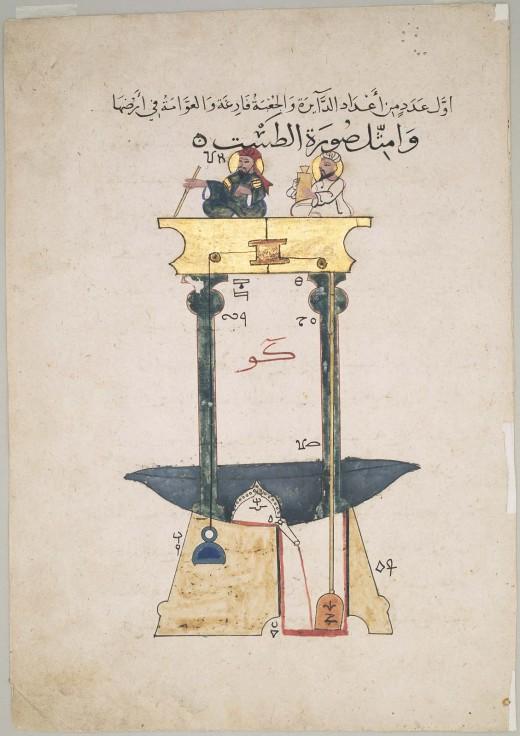 Al Jazari, Bloodletting Machine. Image courtesy of the artist.