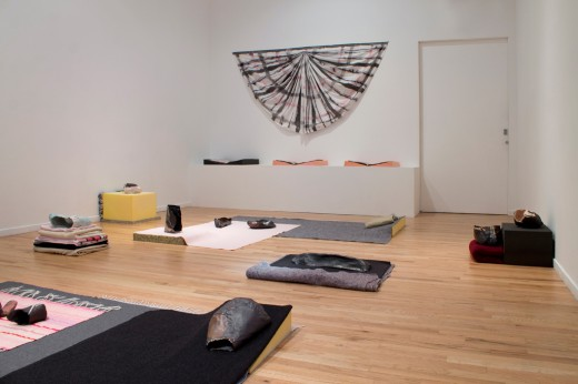 """Zoe Kreye, """"Our Missing Body"""" (installation view), Every Little Bit Hurts, Western Front, 2014. Photo by Maegan Hill Carroll."""
