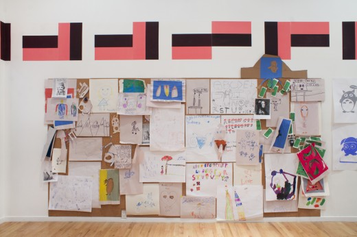Ciara Phillips, Cold Friends Warm Cash (installation view), Western Front, 2016. Photo by Maegan Hill-Carroll.