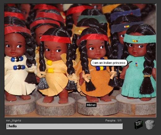 Lilgirls, Michelle Nahanee, CPW2K, 2001