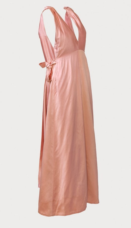 Kate Craig, Pink Dress created and worn for the Amy Vanderbilt Valentine's Ball (1975). Photo: Rachel Topham Photography.