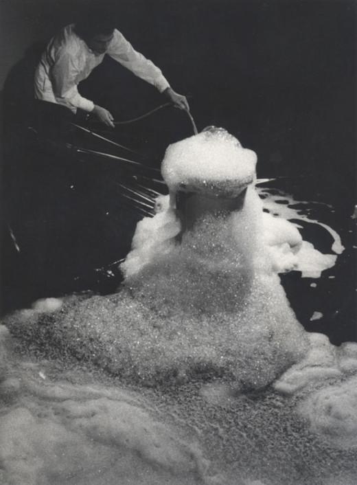 Performance documentation, Blowing Bubbles, 1979