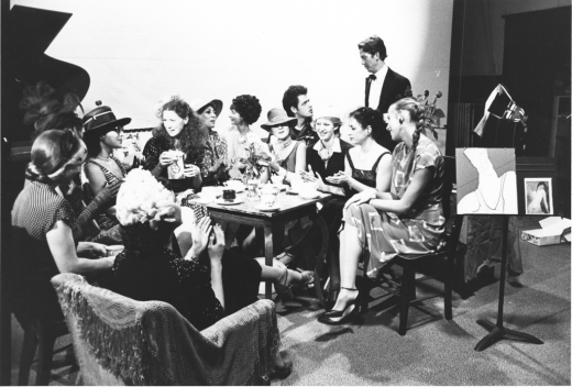 Girls' Club Tea, 1979