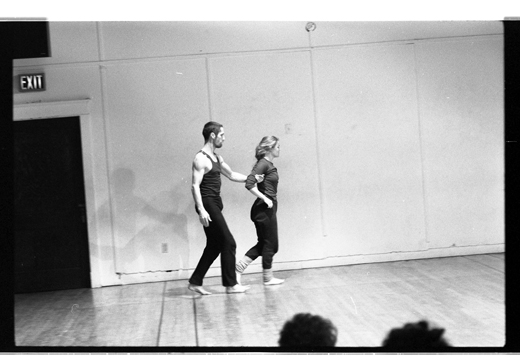 Steve Paxton and Helen Clarke, 1983