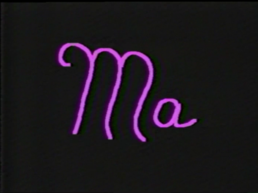 "Title from ""Ma"" (1986)"