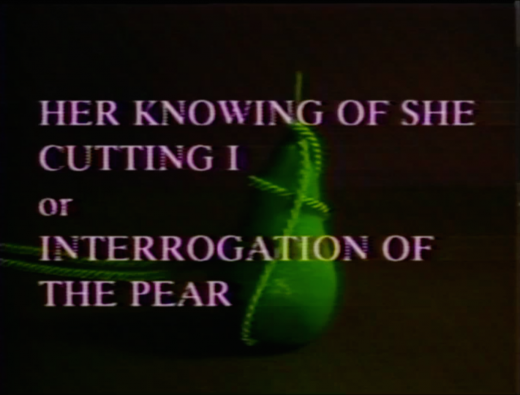 The Body of Knowledge (1988)