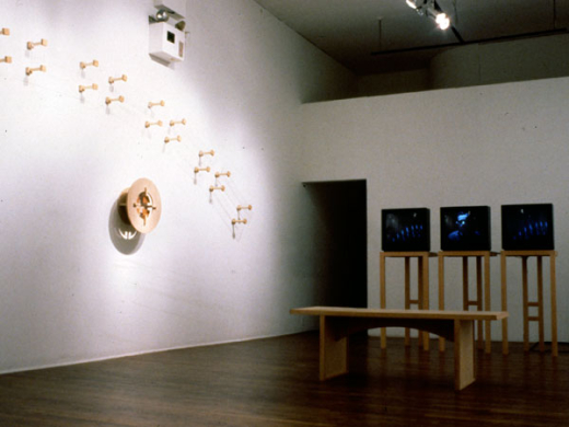 Installation view, Reorganization Room, 1992