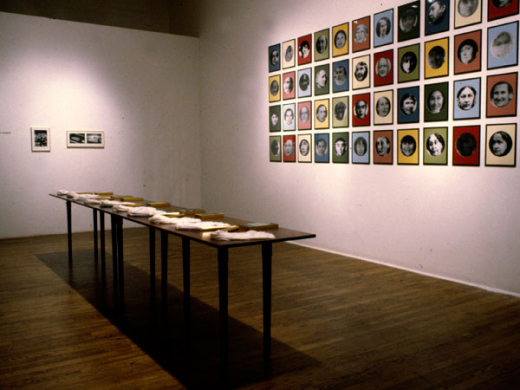 Installation view, Blind Spots, 1992
