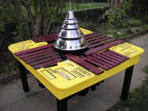 Quadrabalarimbamaphone, 2009. Brad Muirhead, Martin Fisk