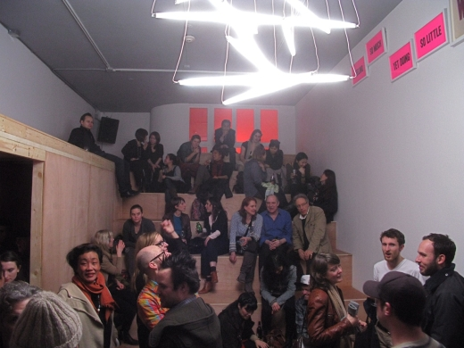 Opening of Instant Coffee, Feeling So Much Yet Doing So Little, 2012