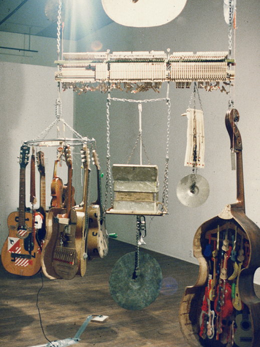 Ken Gerberik, Instrument for Sound, Room for Clutter, 1988