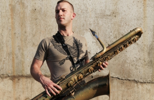 Colin Stetson. Photo by Scott Irvine.