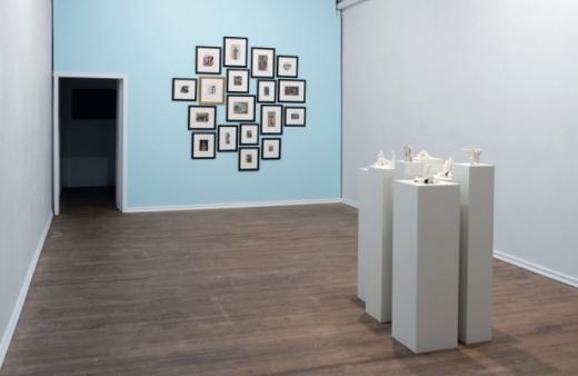 Elizabeth Zvonar, installation view, 2009.