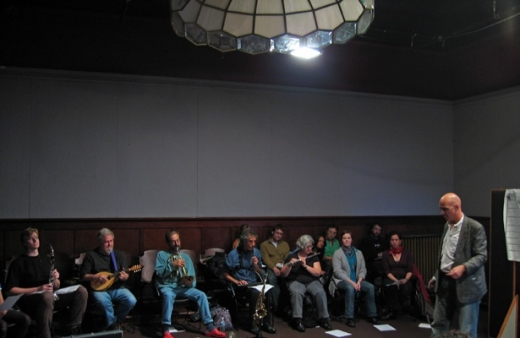 Coat Cooke & NOW Workshop, 2007. Photo: Ben Wilson