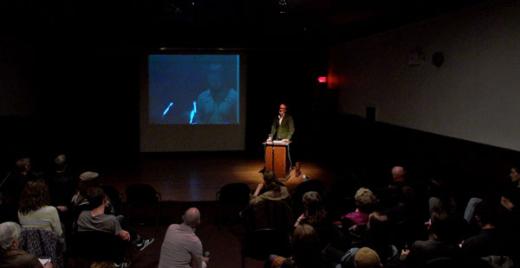 Clint Burnham talking about SLOW ART WRITING