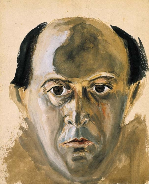 Self Portrait. Arnold Schoenberg