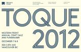Go to TOQUE 2012