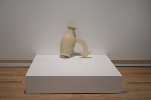 Feiko Beckers, Merely a Part of Life, 2011, ceramic vase. Image credit Meagan Hill-Carroll