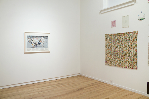 This is the Cow installation view, 2012. Image credit Meagan Hill-Carroll