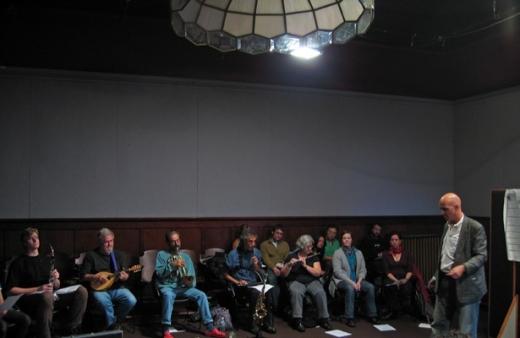 Coat Cooke & NOW Workshop, 2007. Photo- Ben Wilson