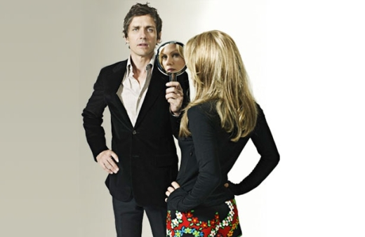 Dean Wareham and Britta Phillips, 2008.