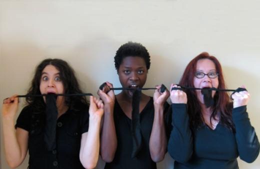 Stitch L-R: Anna Chatterton, Neema Bickersteth, Christine Dunan.