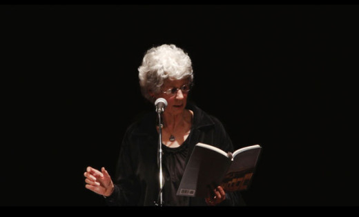 Daphne Marlatt reading from Liquidities, 2013