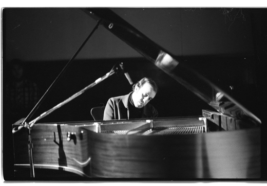 Martial Solal on piano, 1979