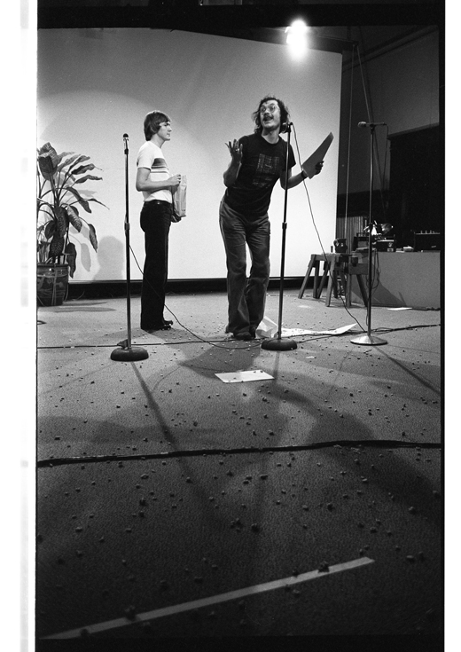 "Unidentified, Steve McCaffery, ""Cabaret Voltaire"", 1978"