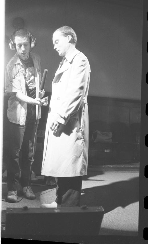 """Hank Bull, Andrew J. Paterson, """"Steel & Flesh"""", 1980"""