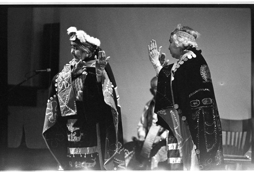 """""""Songs and dances by Kwakiutl artists"""", New Wilderness, 1980"""