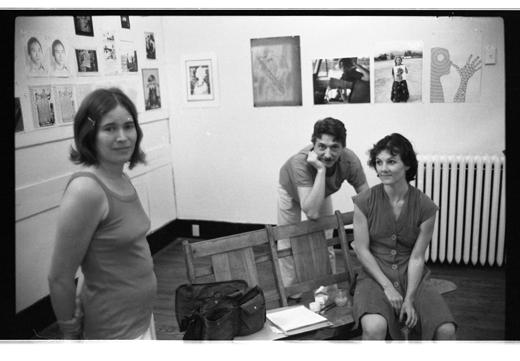 "Kate Craig, Glenn Lewis, Jane Ellison, ""Pin Up Portraits"", 1979."