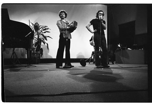 """Steven Smith, Steve McCaffery, """"Cabaret Voltaire"""", 1978"""