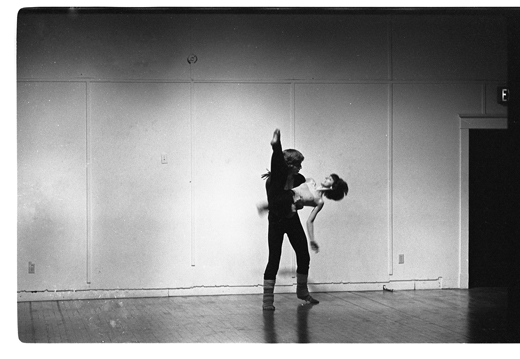 "Marc Smith-Slosky[?], Cheryl Prophet, ""New Dance Works"", 1980"