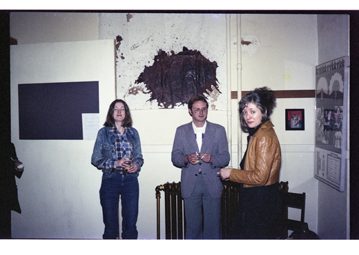 "Monica Holden-Lawrence, Vincent Trasov, unidentified, ""Documents from the Theatre of the Actual"", 1978"