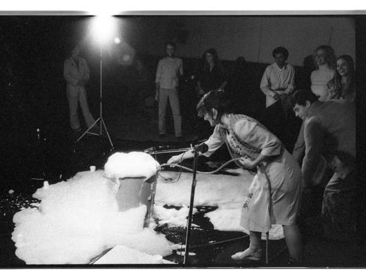 """Jane Ellison, """"Blowing Bubbles"""", 1979"""