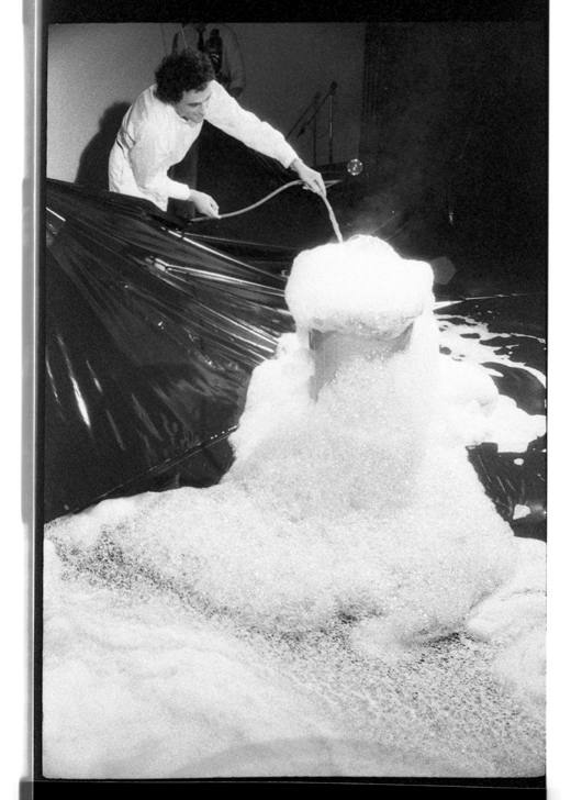 """Alzek Misheff, """"Blowing Bubbles"""", 1979"""