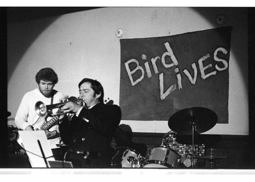 "Tony Clitherol, Donne Clarke, ""Charles Parker Memorial Jazz Breakfast"", 1975"