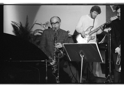 "Fraser MacPherson, Tony Clitherol, ""Charles Parker Memorial Jazz Breakfast"", 1975"