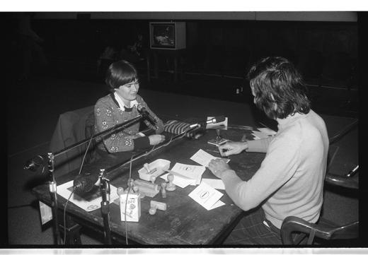 """Kate Craig, Herve Fischer, """"Identity Utopic"""", 1976"""