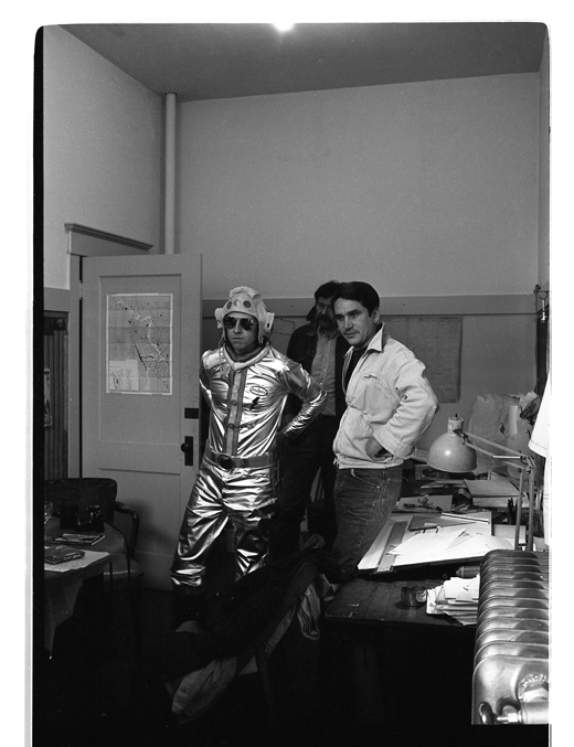 Dana Atchley, Moe van Nostram, Eric Metcalfe, 1974