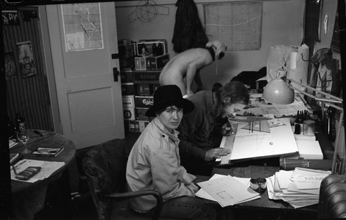 Kate Craig, Mo Van Nostrand, Dana Atchley, 1974