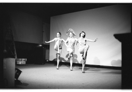 "Margaret Dragu, Elizabeth Chitty, Jane Ellison, ""Unfit for Paradise"", 1981"