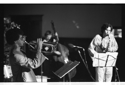 "Herb Robertson, Lisle Ellis, Tim Berne, ""Tim Berne Quartet"", 1981"
