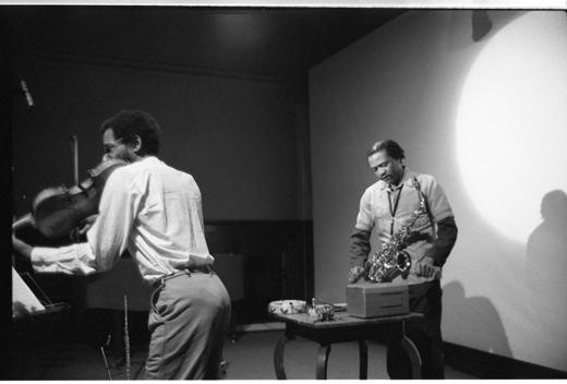 Leroy Jenkins, Oliver Lake, 1980