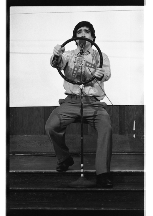 """Michael Smith, """"An Evening of Comic Performance"""", 1981"""